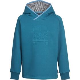 Elkline Upndown Pull à capuche Enfant, blue coral